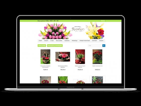 rogatka.pl Shoper kwiaciarnia internetowa - Aktynova