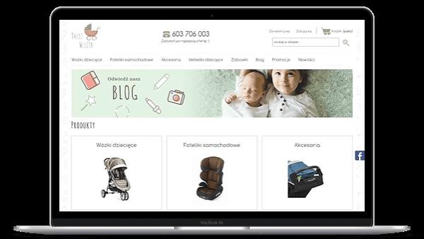 Twojwozek.pl Shoper sklep z wózkami dla dzieci - Aktynova
