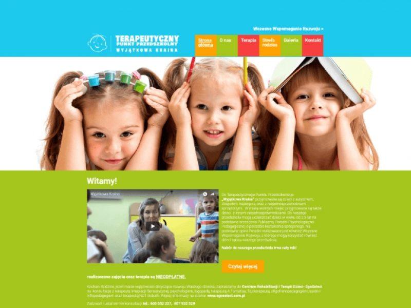 Wyjątkowa Kraina Przedszkole strona internetowa - Aktynova