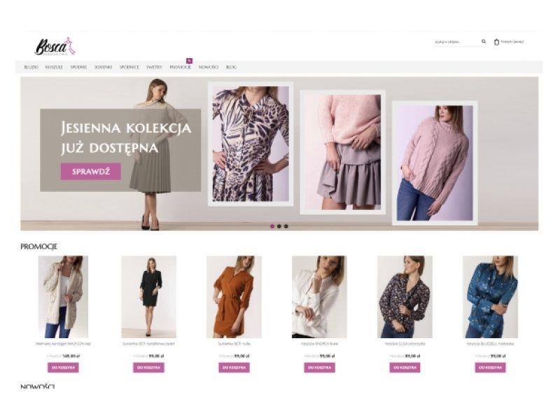 bitikbosca sklep Shoper z odzieżą damską - Aktynova