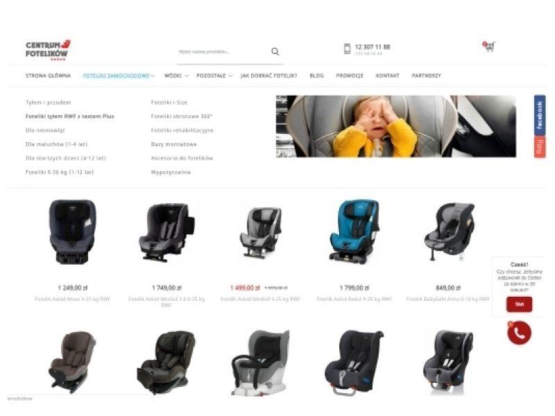 centrumfotelikow sklep shoper wózki dla dzieci Aktynova