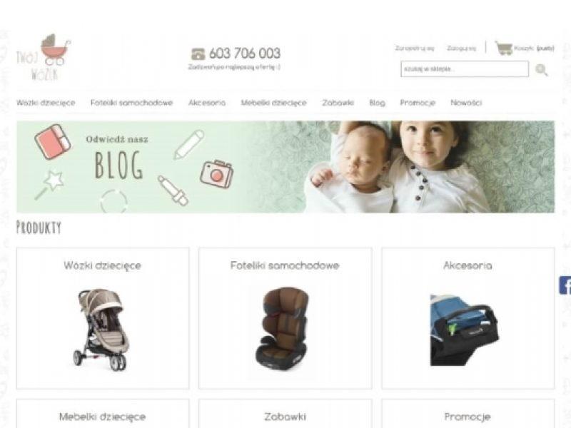 twojwozek sklep shoper z wózkami dla dzieci -Aktynova